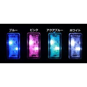 USB LED ライト 2個セット イルミ カバー 保護 車用 車載 イルミネーション ルーム ランプ LED  アクセサリー 防塵 簡単 おしゃれ VIP ラグ USDM ドレスアップ|chari-o