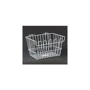 リンエイ(株) 【H-2-W-DX】H-2 ワイヤーバスケット(C50 DX用) ホワイト [100-20311]|chari-o