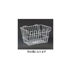 リンエイ(株) 【H-2-BK-DX】H-2 ワイヤーバスケット(C50 DX用) ブラック [100-20312]|chari-o