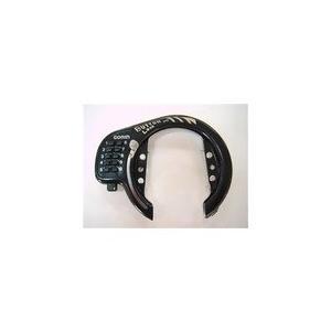 GORIN 【GR-520-V/b】GR-520-V ボタン式リングロック ブラック [150900002]|chari-o