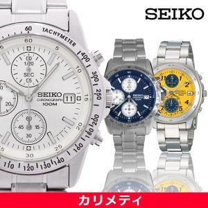 SEIKO セイコー メンズ 腕時計 クロノグラフ クォーツ...