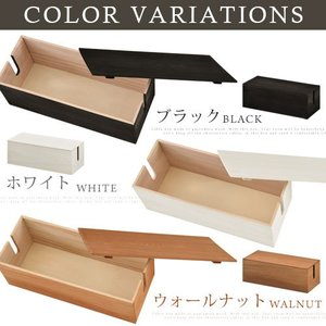 ケーブルボックス 桐木製 アジアン おしゃれ 北欧風 インテリア 人気|charisma-bon|02