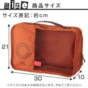 オーガナイザー 6L トラベルバッグ セカンドバッグ ビジネスバッグ かばん ポーチ バックインバック|charisma-bon|03