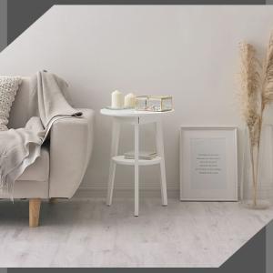 ナイトテーブル ベッドサイドテーブル テーブル ソファ ソファーサイドテーブル 丸形 北欧 おしゃれ 木目 コーヒーテーブル|charisma-bon|12