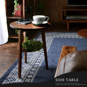 ナイトテーブル ベッドサイドテーブル テーブル ソファ ソファーサイドテーブル 丸形 北欧 おしゃれ 木目 コーヒーテーブル|charisma-bon|13