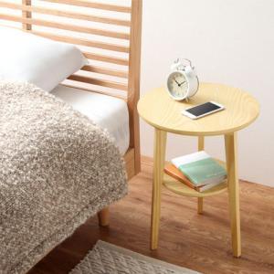ナイトテーブル ベッドサイドテーブル テーブル ソファ ソファーサイドテーブル 丸形 北欧 おしゃれ 木目 コーヒーテーブル|charisma-bon|04