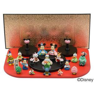 ディズニー 雛人形 段飾り15人(ミッキー&ミニー)|charm