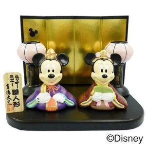 ディズニー 雛人形(ミッキー&ミニー)雪洞付き|charm