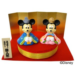 ディズニー 雛人形 ミニ(ミッキー&ミニー)|charm