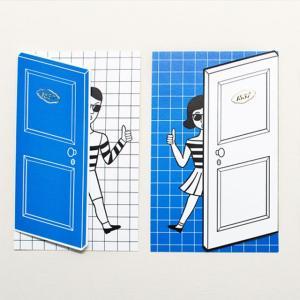 メッセージカード バースデーカード お祝い カード 手紙 シュール イラスト おもしろ ステーショナ...