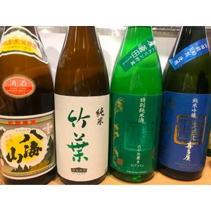SAKEディプロマ2次試験対策 日本酒(特定名称酒)4種類+本格焼酎4種類テイスティングセット〈1種100ml〉|charpente