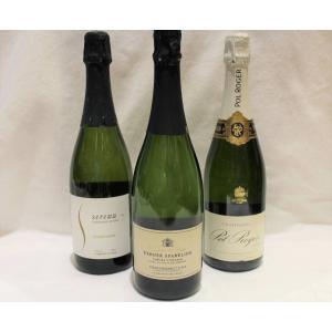 名門シャンパーニュ1本&国産スパークリングワイン2本セット|charpente