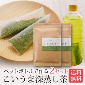 こいうま深蒸し茶ペットボトル用40包 送料無料(水出し緑茶 ティーバッグ メール 冷茶 水だし)