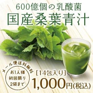 青汁/ 国産桑葉青汁お試しセット 送料無料 (360億個の乳...