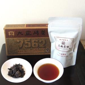 七五六二大益磚茶2007年 40g|chasyu-charaku