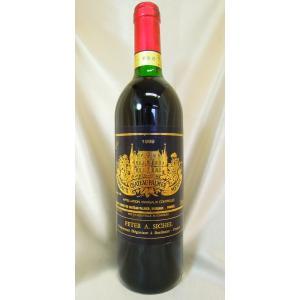 赤ワイン シャトー・パルメ 1989 PP95点 Ch.Palmer ボルドー