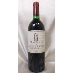 赤ワイン シャトー・ラトゥール 1979 a2 Ch.latour ボルドー