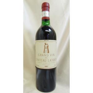 赤ワイン シャトー・ラトゥール 1987 Ch.latour ボルドー