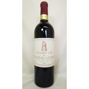 赤ワイン シャトー・ラトゥール 1997 Ch.latour ボルドー