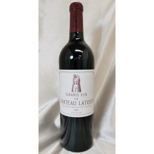 【12月限定特価!】赤ワイン シャトー・ラトゥール 2007 PP92+点 Ch.latour ボル...