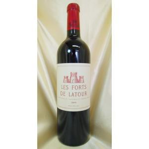 赤ワイン レ・フォール・ド・ラトゥール 2009 PP95点 Les Forts de Latour...
