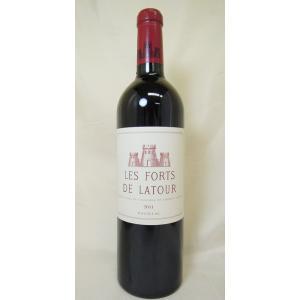 赤ワイン レ・フォール・ド・ラトゥール 2011 Les Forts de Latour セカンド ...