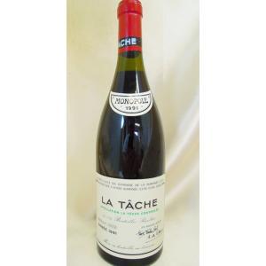 赤ワイン DRC ラ・ターシュ 1991 DRC La Ta...