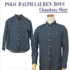 ラルフローレン シャツ ボタンダウン 長袖 POLO Ralph Lauren Boy's  シャン...
