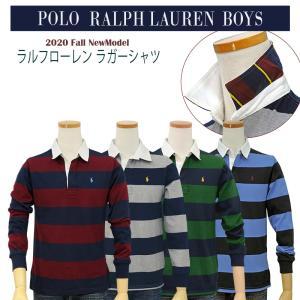 ラルフローレン POLO Ralph Lauren ポロラルフローレン ボーイズ ボーダー 長袖 ラ...