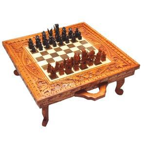 【チェステーブル】Decorative Table Wood Set|checkmate-japan