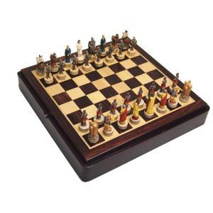 【レジンチェスセット】Trojan Resin Set checkmate-japan