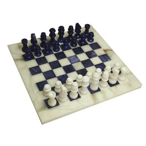 【ストーンチェスセット】Prime Stone Set(blue)|checkmate-japan
