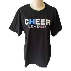 チア Tシャツ メンズ CHEER LEADER type A ブラック|chedan