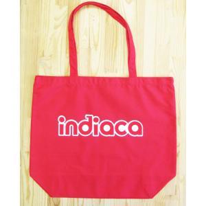 インディアカ Indiaca トートバッグL レッド |chedan