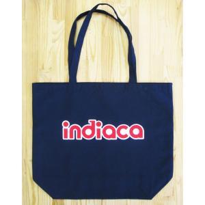 インディアカ Indiaca トートバッグL ネイビー |chedan