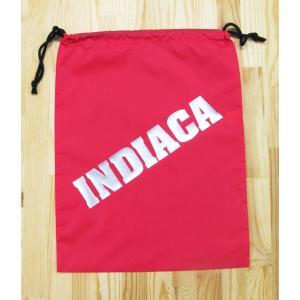 インディアカ INDIACA  シューズナイロンバッグ レッド|chedan