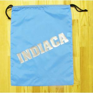 インディアカ INDIACA  シューズナイロンバッグ ブルー|chedan
