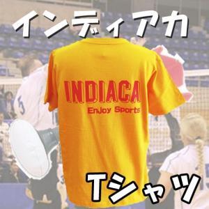 インディアカ Tシャツ オレンジ 半袖 typeA |chedan