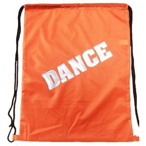 DANCE リュックタイプ ランドリーバッグ オレンジ チアグッズ chedan 02