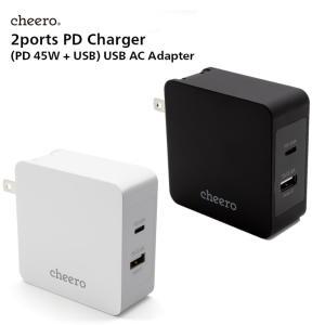 USB 充電器 タイプC タイプA 2ポート アダプタ パワーデリバリー 45W 合計 出 力 57...