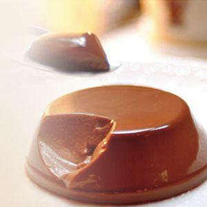 【エクチュア】 チョコレートブリュレ 2個セット (ミルク/ビター) スイーツ/有名店/プレゼント/プディング/とろけるプリン/|cheers-eshop