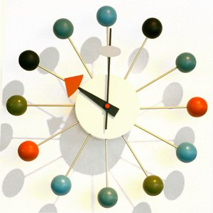 ジョージ・ネルソン ネルソンクロック 「ボール(球)」 掛け時計|cheers-eshop