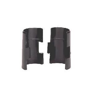 【SALE】[ポール径25mm]ルミナスレギュラー スリーブ(ブラック) 4個セット Luminous/スチールラック/ワイヤーラック/収納ラック/ルミナスパーツ/取付部品|cheers-eshop