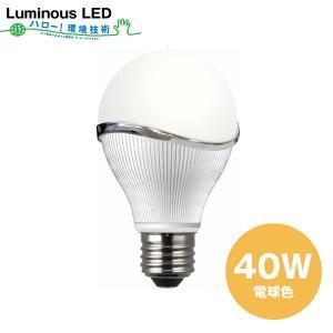 【SALE】Luminous LED電球(電球色)40W(相当)消費電力4.7W LEC-Q400D 単品/省エネ/エコ/長寿命/|cheers-eshop