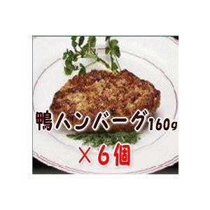 鴨ハンバーグ160g×【6個セット】 母の日/父の日/敬老の日/ギフト
