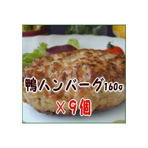 鴨ハンバーグ9個セット 母の日/父の日/敬老の日/ギフト