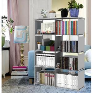 本棚 大容量 整理棚 ワイヤー収納ラック 組み立て式 衣類収納ボックス