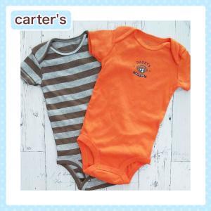 カーターズ ロンパース  正規品 Carter's -1) ラグビー 半袖 ロンパース 2点セット(6M 6ヶ月 赤ちゃん 男の子用)(50cm 60cm 70cm carters) 激安お買い得|cherie-box