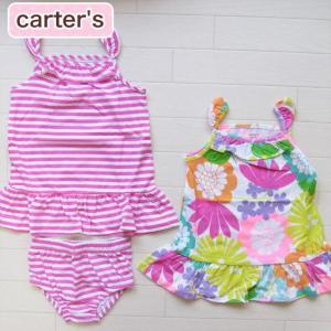 カーターズ 正規品 Carter's -3)サンドレス2枚とパンツのセット(6M 12M 1歳 1才 18M 2歳 2才 24M 2T 3歳 3才 3T 4歳 4才 4T 5歳 5才 5T 女の子用)(80cm 90|cherie-box