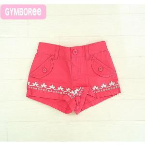 ジンボリー 正規品 Gymboree -2)刺繍がかわいいピンクのショートパンツ♪(6M 9M 12...